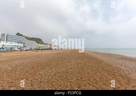 Beach, Hastings, East Sussex, England , UK - Stock Image