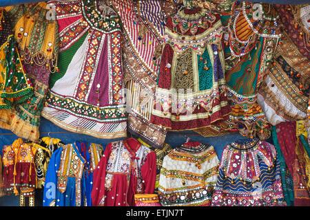 Rajasthani costume. Mount Abu, Rajasthan, India - Stock Image