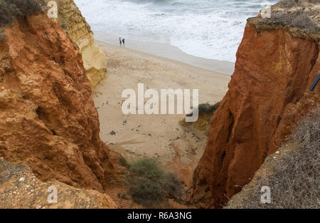 Praia Dos Tres Irmaos, Alvor, Algarve, Portugal - Stock Image