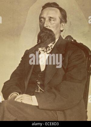 John J. Glover; William H. Mumler, American, 1832 - 1884; 1862 - 1875; Albumen silver; Image: 9.5 x 5.7 cm (3 3/4 - Stock Image