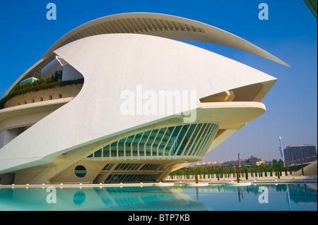 Arts and Science Park (Ciudad de las Artes y las Ciencias), Valencia, Spain - Stock Image