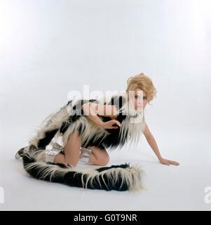 Jane Fonda / Barbarella / 1967 directed by Roger Vadim [Paramount Pictures] - Stock Image