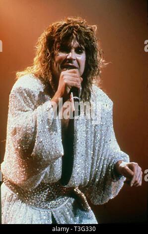 OZZY OSBOURNE UK rock singer about 1996 - Stock Image