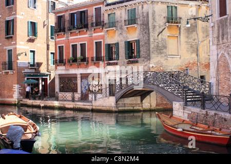 Sestiere di Santa Croce, Venice, Italy - Stock Image