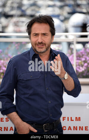 72nd Cannes Film Festival 2019, Photocall Master of ceremony Pictured: Edouard Baer  Where: Cannes, France When: 14 May 2019 Credit: IPA/WENN.com  **Only available for publication in UK, USA, Germany, Austria, Switzerland** - Stock Image