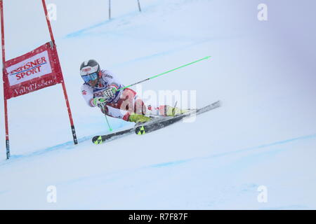 08 Dec. 2018 Val d'Isère, France. Roland Leitinger of Austria skiing men's Giant Slalom Audi FIS Alpine Ski World Cup 2019 Sport WinterSports - Stock Image