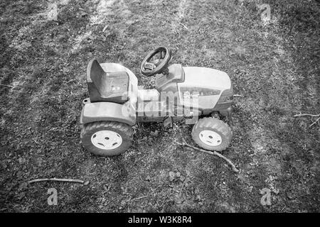 toy tractor - Stock Image