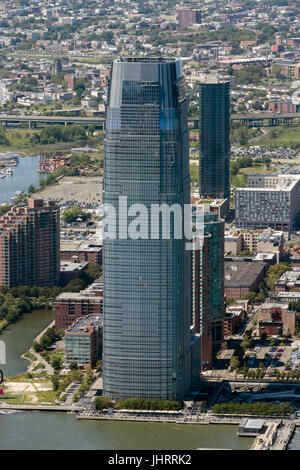 Goldman Sachs Tower in Jersey City - Stock Image