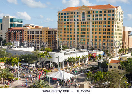 Miami Coral Gables Miami Florida Coral Way Miracle Mile carnival Carnaval on the Mile carnival annual event street fair festival Hispa - Stock Image