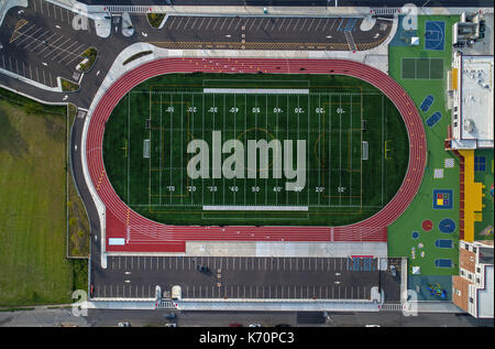 Football Athletic Field - Stock Image