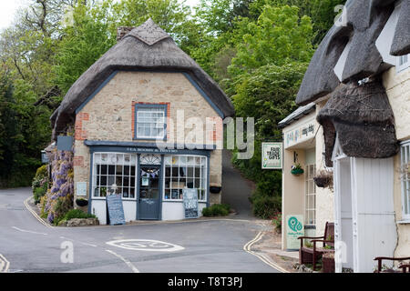 Worsley's tea room and bistro, Godshill, Isle of Wight - Stock Image