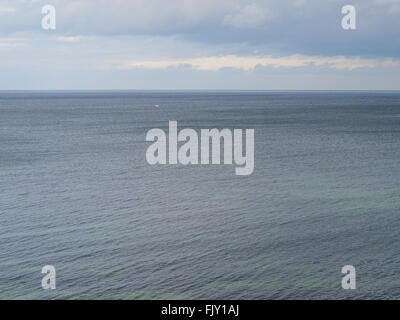 Scenic View Of Sea Against Sky - Stock Image