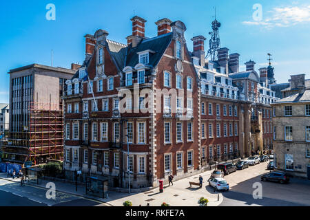 Grand Hotel, 1906, by Horace Field, Edwardian Renaissance revival style, Station Rise, York, England - Stock Image