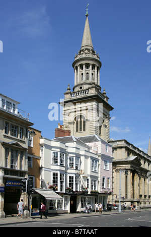 All Saints Church, High Street, Oxford, Oxfordshire, UK. - Stock Image