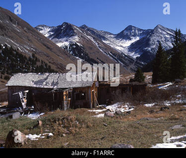 Ghost Town - Stock Image