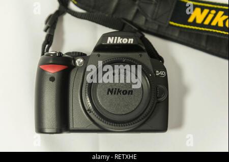 Nikon D40 DSLR - Stock Image