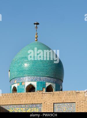 Seyyed mosque dome, Isfahan, Iran - Stock Image
