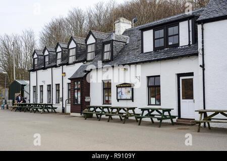 Applecross Inn, Applecross Peninsula, Wester Ross, Highland Region, Scotland - Stock Image