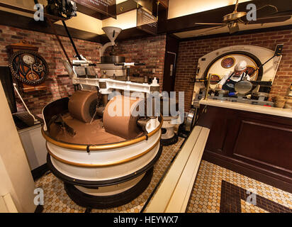 Ghirardelli in San Francisco  Chocolate house - Stock Image