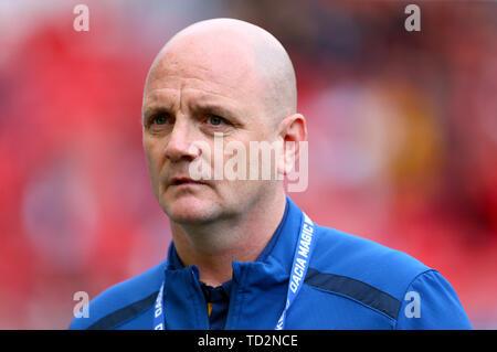 Leeds Rhino's head Coach David Furner - Stock Image