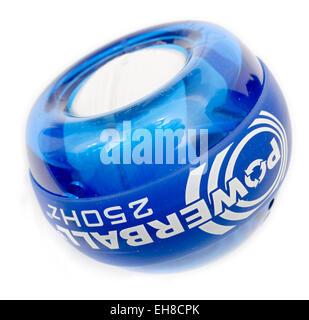 Powerball arm and wrist exerciser - Stock Image