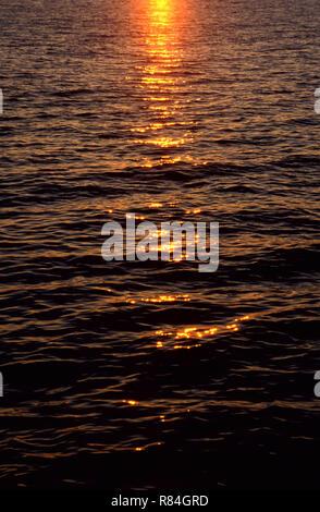 Ocean Sunset - Stock Image