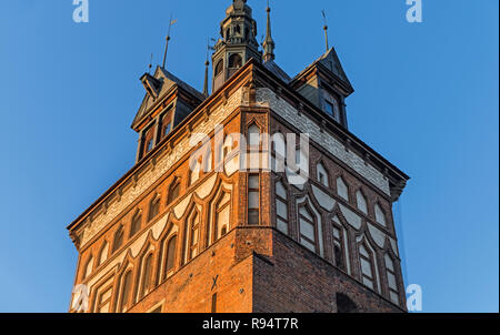 Prison Tower Gdańsk Poland - Stock Image