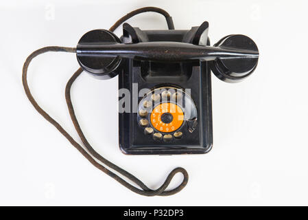 The Vintage rotary telephone - Stock Image