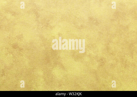 Japanese vintage brown color paper texture or grunge background - Stock Image