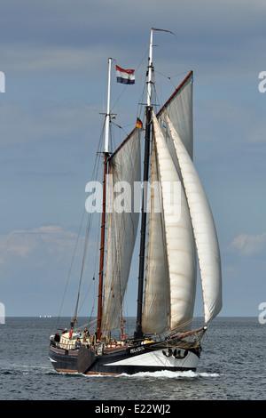 Traditional sailing ship Pegasus - Stock Image