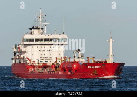 Chemical/Oil Products Tanker Amaranth - Stock Image