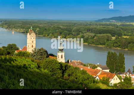 Krems an der Donau in the federal state of Lower Austria, Wachau Valley, Austria - Stock Image