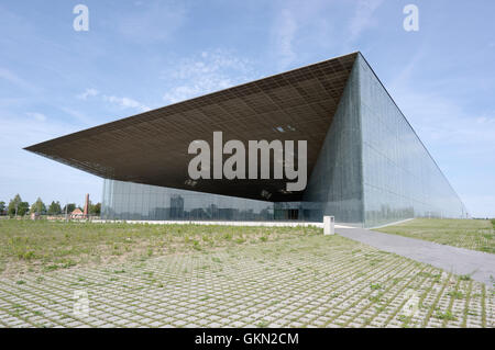 Estonian National Museum main building. 21th august 2016 Tartu. Estonia - Stock Image