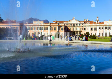 Italy, Lombardy, Varese, Palazzo Estense - Stock Image