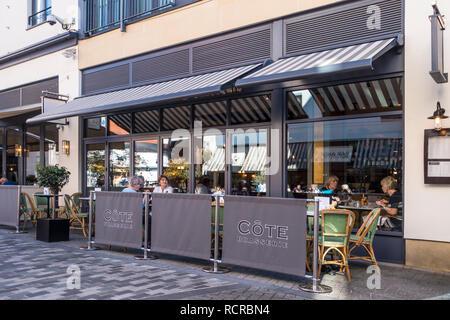 Cote Brasserie,Coffee Shop,Restaurant,Brasserie,Royal Leamington Spa,England,UK - Stock Image