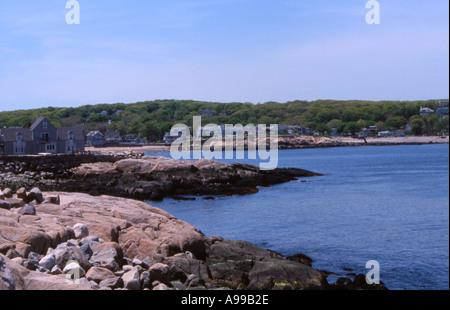 East coast harbor - Stock Image