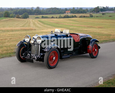 1934 35 Lagonda LG45R 4 5 litre team car Country of origin United Kingdom - Stock Image