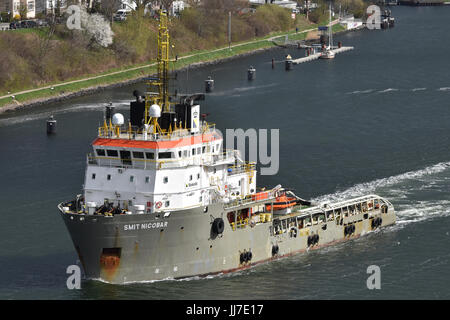 Offshore Support Vessel Smit Nicobar - Stock Image