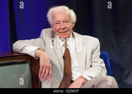 Walsall, West Midlands, UK. 20 March 2015. Former Granada television producer Johnnie Hamp at a recording of 'The - Stock Image
