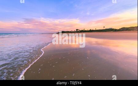 Broome, Australia. Cable Beach, Broome at sunset, WA - Stock Image