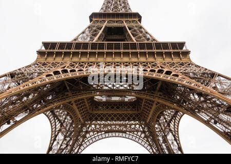 Paris (France) - Tour Eiffel - Stock Image