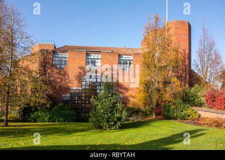 Robinson College, University of Cambridge, founded 1977 and one of the newest Oxbridge colleges. Grange Road, Cambridge, UK - Stock Image
