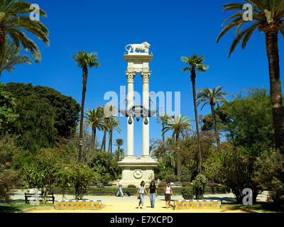 The Murillo Gardens in Seville - Stock Image