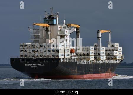Maersk Nottingham - Stock Image