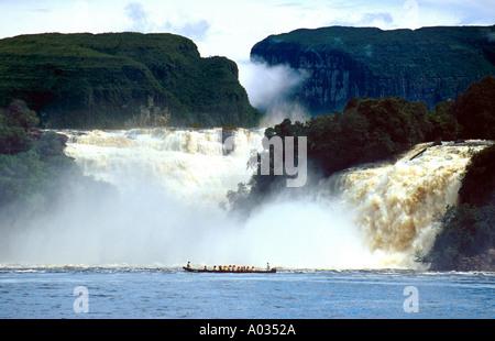 Canaima Waterfalls, Canaima, Venezuela - Stock Image