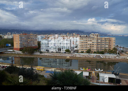 Fuengirola, Málaga, Spain. - Stock Image