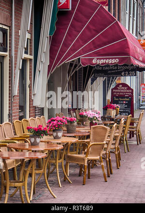 Netherlands, Hoorn, Typical Dutch architecture - Stock Image