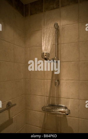streaming shower - Stock Image