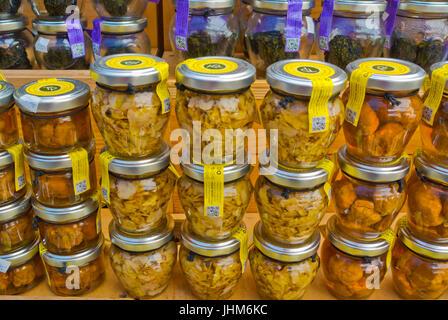 Truffles, market, Rovinj, Istria, Croatia - Stock Image