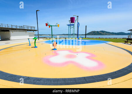 New Waterpark precinct on the foreshore, Cooktown, Far North Queensland, QLD, FNQ, Australia - Stock Image